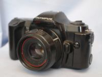 *NICE SET* Olympus OM101 SLR Camera + 50MM Lens + Manual Adaptor 2   £19.99